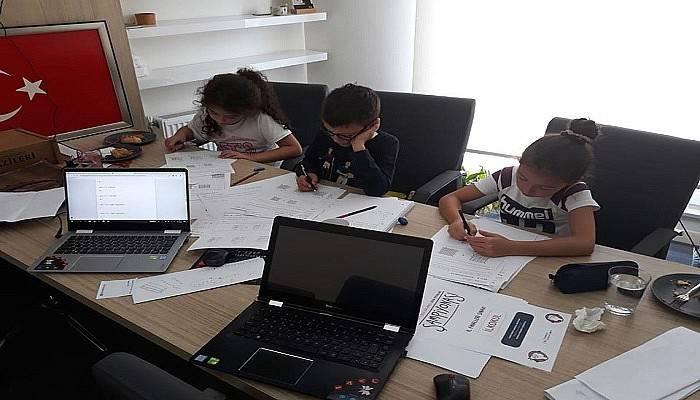 Çan Cumhuriyet İlkokulu Öğrencileri Birinci Oldu