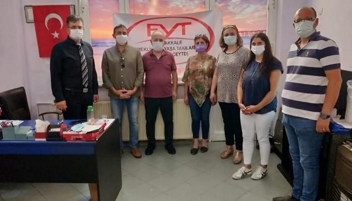 CHP'den EYT'ye destek ziyareti