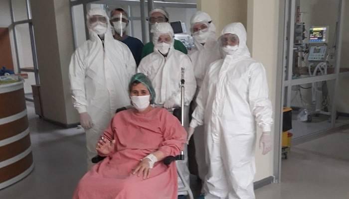 Çanakkale'de sevindiren gelişme! 63 yaşındaki hasta sağlığına kavuştu