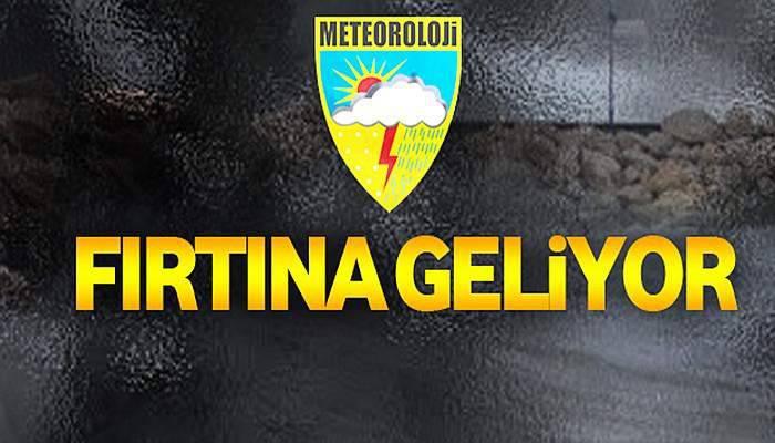 Marmara ve Kuzey Ege'de Fırtına Bekleniyor!!!
