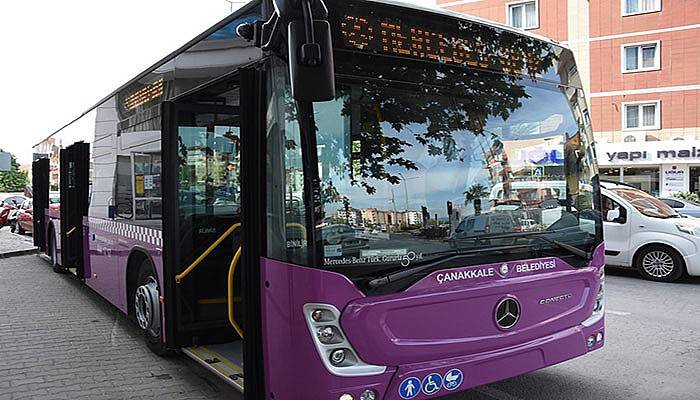 Toplu taşımaya yeni araç