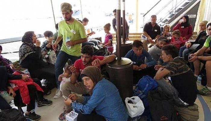 Çanakkale'de 39 kaçak yakalandı (VİDEO)