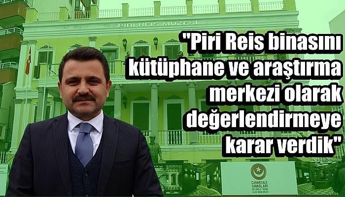 Piri Reis Müzesi yenileniyor (VİDEO)