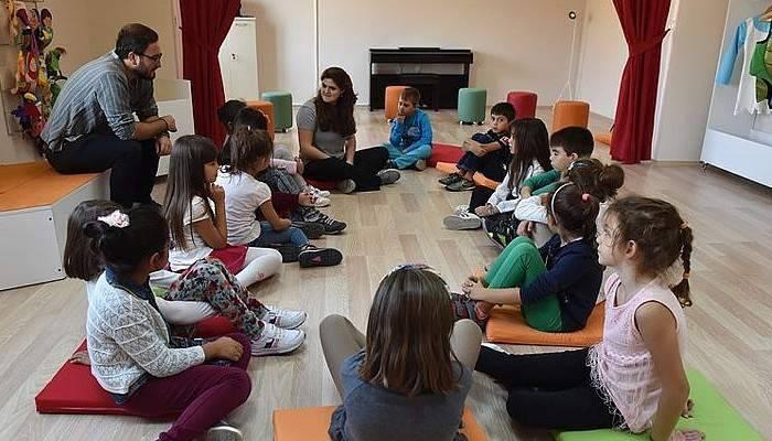 Çocuk Kültür Evi Atölyeleri Başladı