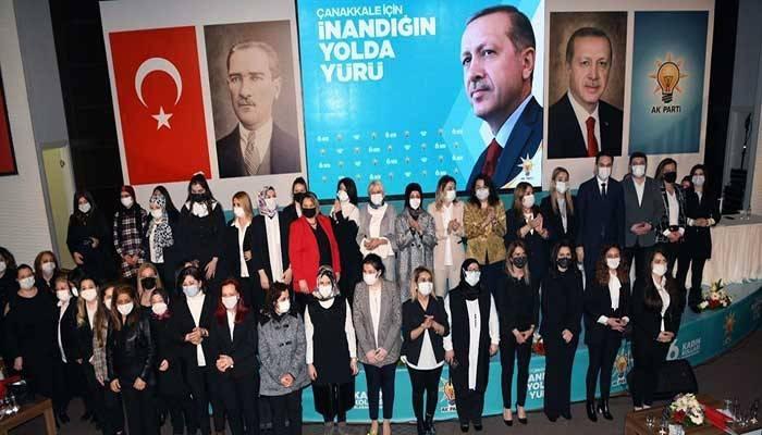 AK Parti Kadın Kolları 6'ncı Olağan kongresi yapıldı