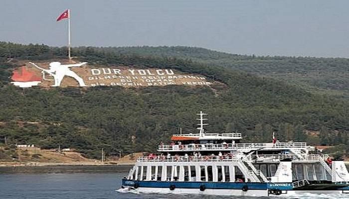 Eceabatlı öğrencilere feribot ücretsiz