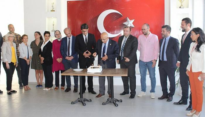 Ezine MYO Akademik Kurul Toplantısı Rektör Prof. Dr. Sedat Murat'ın Katılımıyla Gerçekleştirildi