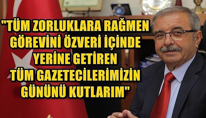 Gelibolu Belediye Başkanı Özacar'ın 10 Ocak Çalışan Gazeteciler Günü Mesajı
