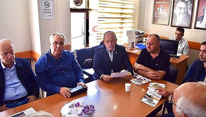 CHP İL GENEL MECLİSİ AYLIK DEĞERLENDİRME TOPLANTISI YAPILDI