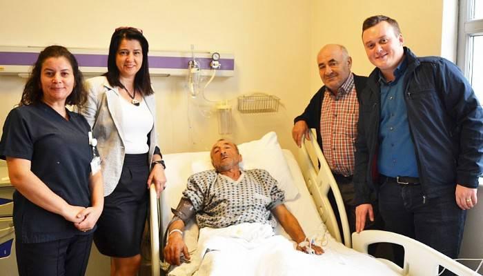 Başarılı Fıtık Ameliyatı Sonrası Sağlığına Kavuştu