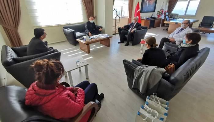 Başkan Gökhan'dan Sağlık Çalışanlarına Tarhana Hediyesi