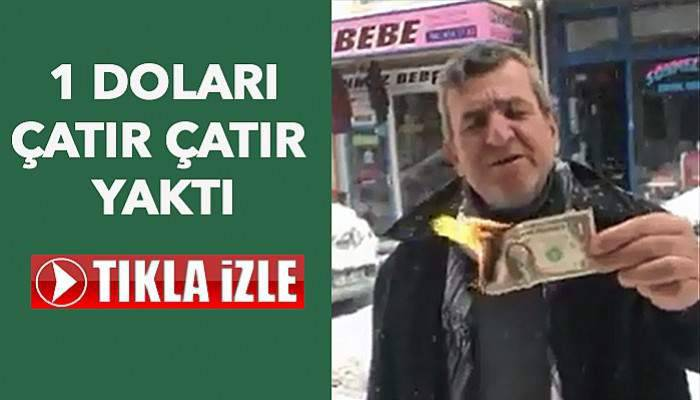 Özer'in son kurbanı 'dolar' oldu! (VİDEO)