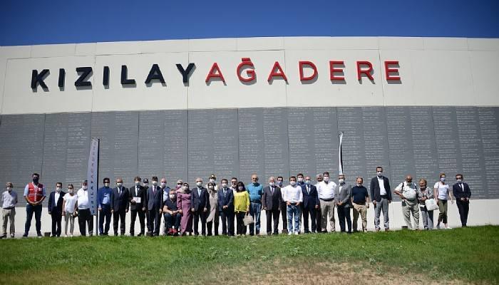 Türk Kızılay Ağadere Müzesinde bilgilendirme toplantısı