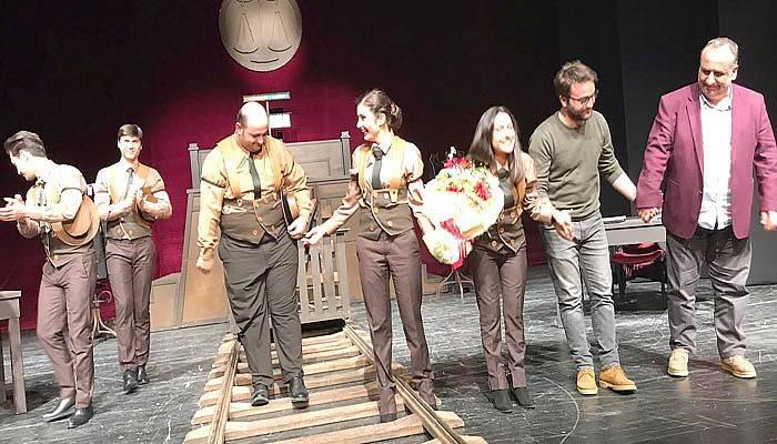 Karar oyunu Çanakkale'de sahne aldı