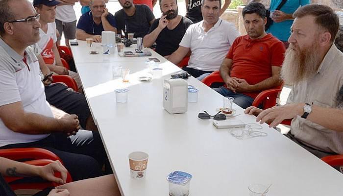 CHP'li Atıcı, 'Militan yetiştiriliyor' dediği kampa girdi