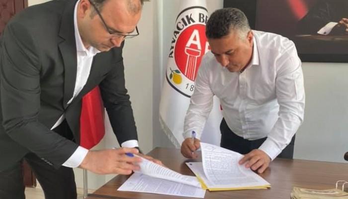 Ayvacık'a doğalgaz için ilk imzalar atıldı