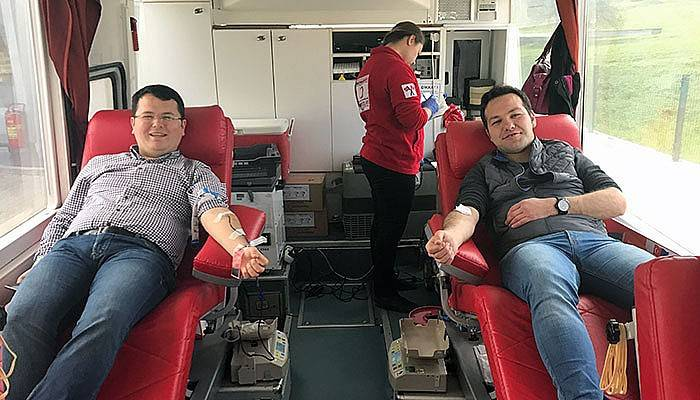 Aydoğan Otomotiv'den Kan Bağışı Desteği