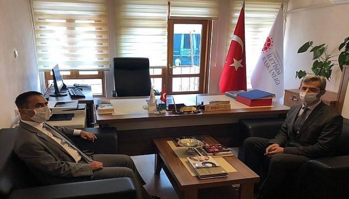 Vali Aktaş, Cumhurbaşkanlığı İletişim Başkanlığı Bölge Müdürlüğünü Ziyaret Etti