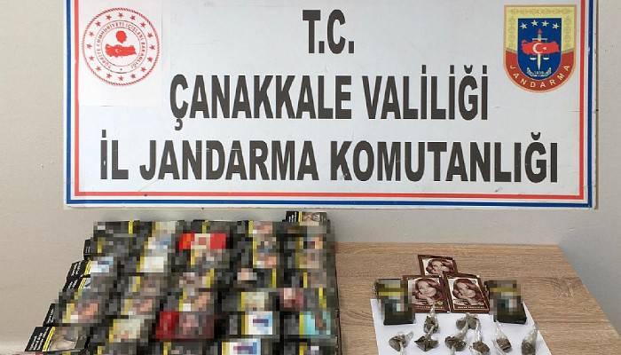 Çanakkale'de uyuşturucu operasyonunda 1 gözaltı