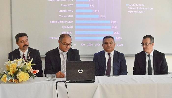 Çan MYO Akademik Kurul Toplantısı Yapıldı