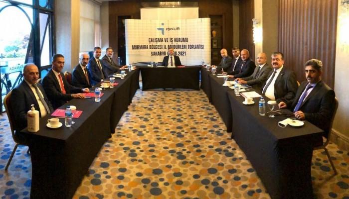 Marmara Bölgesi Koordinasyon Toplantısı'na katıldı