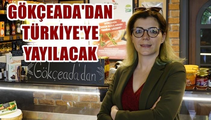 'Gökçeada Ürünleri Ankara'dan Tüm Türkiye'ye Yayılacak'