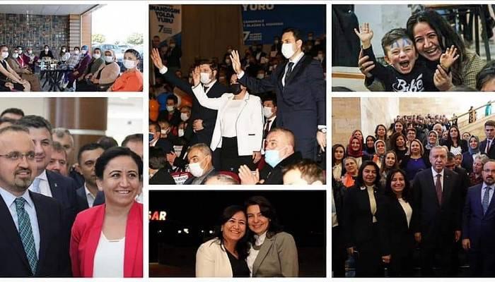 Ak Parti İl Kadın Kolları Başkanı Üstün görevinden ayrıldı