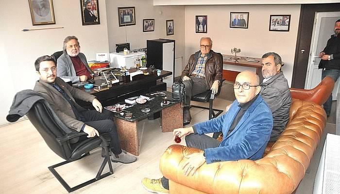 Vatan Partisi Boğaz Medya'yı ziyaret etti