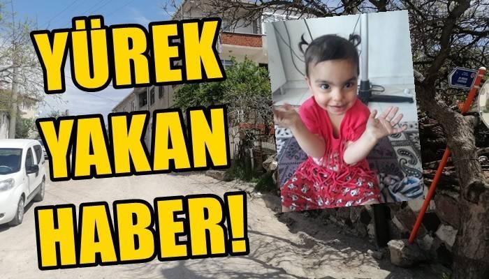 Kamyonetin çarptığı 2 yaşındaki SuriyeliRimas öldü