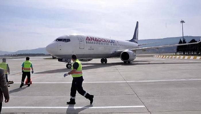 Çanakkale'de havayolu kullanımı arttı