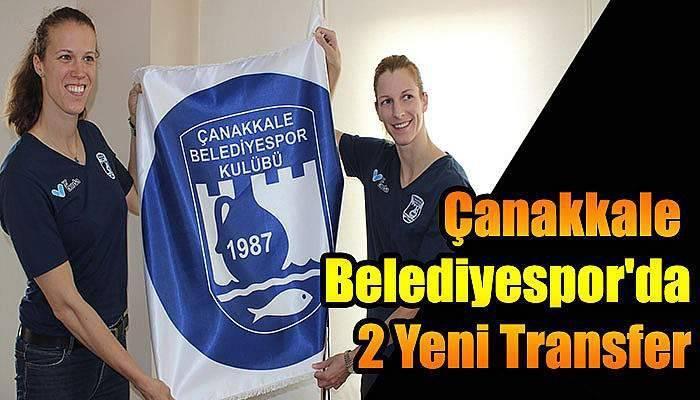 Çanakkale Belediyespor'da 2 Yeni Transfer