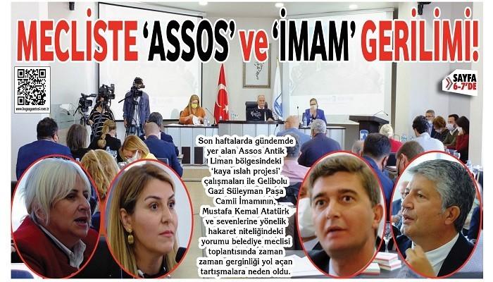 MECLİSTE 'ASSOS' ve 'İMAM' GERİLİMİ!