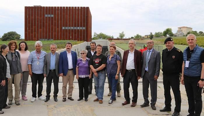 Troya Tarihi Milli Parkında Troya Yılının izleri
