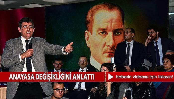 TBB Başkanı Feyzioğlu, Çanakkale'de konuştu (VİDEO)