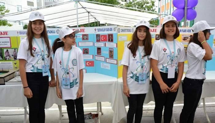 Biga'da Tübitak Bilim Fuarı açıldı