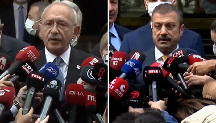 Kılıçdaroğlu, Merkez Bankası'na Gitti! 'Burası bağımsız bir kurum' (VİDEO)