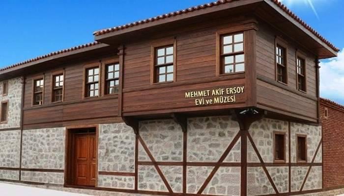 Mehmet Akif Ersoy'un evi tamamlanıyor