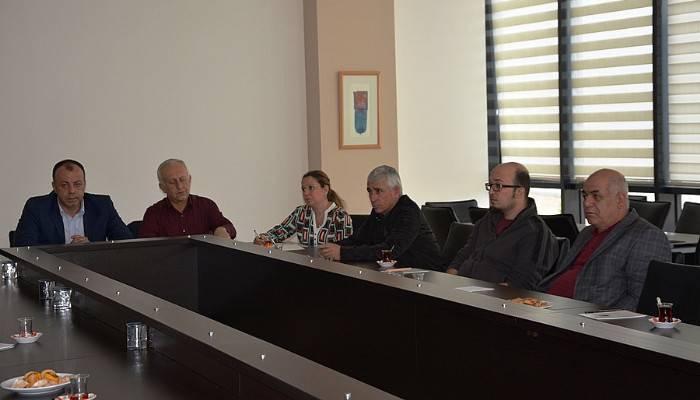 ÇTSO meslek grubu üyeleriyle bir araya geldi