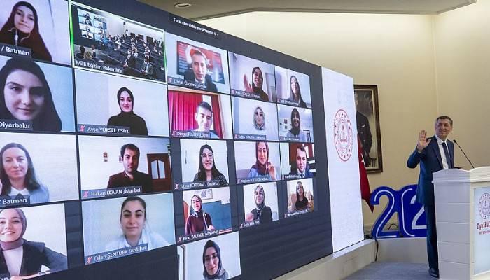 'Türk eğitim tarihinin en büyük öğretmen eğitimi çalışmasını yapıyoruz'