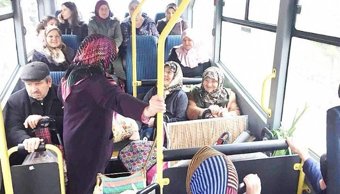 Karabiga Belediyesi'nden 'Ücretsiz Pazar Servisi Aracı' Hizmeti