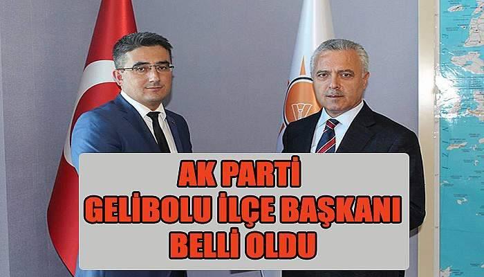 Ak Parti Gelibolu İlçe Başkanlığı'na Mahmut Çetin getirildi