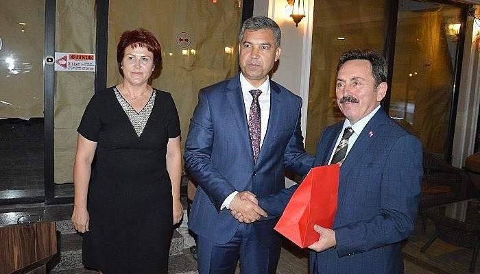 Vali Erkal Çanakkale'ye Veda Etti