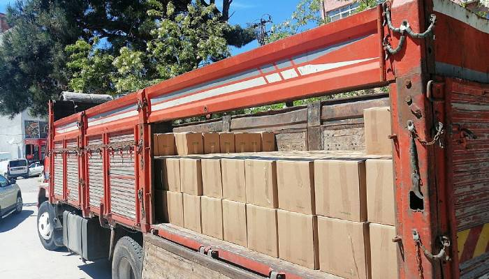Hayırsever İşadamından 500 Kolilik Gıda Erzak Yardımı