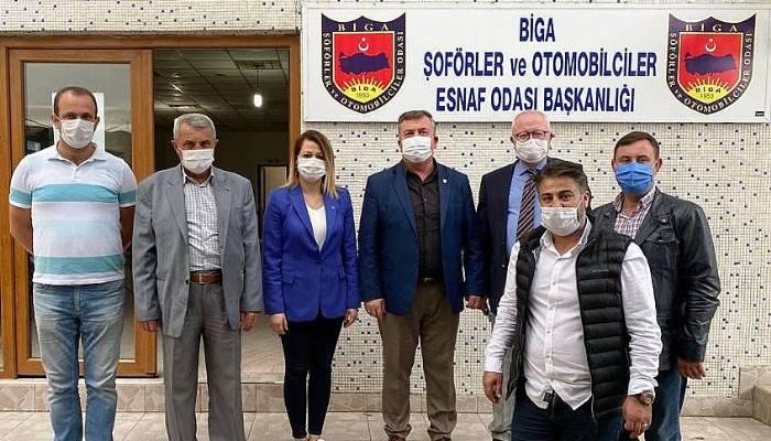 GELECEK PARTİSİ'NDEN PARTİ ZİYARETLERİ