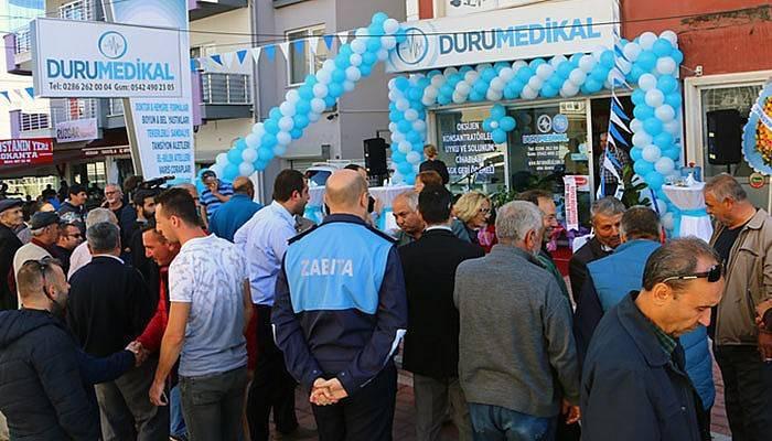 Kepez'de Duru Medikal Açıldı