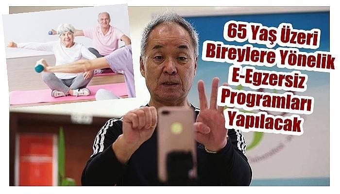 65 Yaş Üzeri Bireylere Yönelik E-Egzersiz Programları Yapılacak