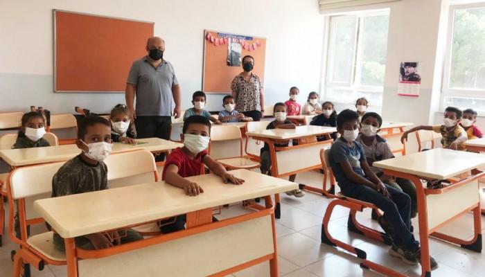 GÜMÜŞÇAY ATATÜRK İLKOKULUNDA 'MOBİL OKUL' PROJESİ BAŞLADI
