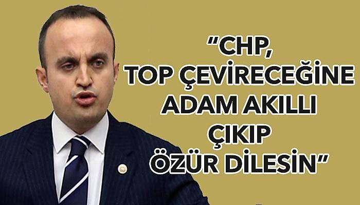 """""""CHP'liler Anzaklar kadar Çanakkale Şehitliğine saygı duymadılar"""""""