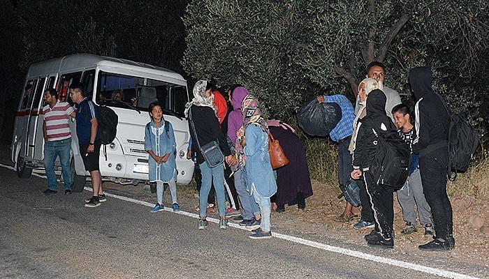 103 mülteci yakalandı