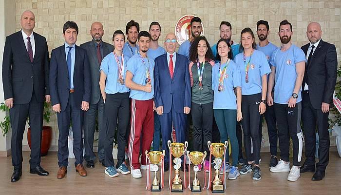 Spor Bilimleri Fakültesi Öğrencilerinin Büyük Başarısı